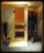 Sauna privatif Volupté Spa