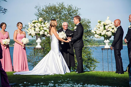 Destination wedding flowers in Newport, RI