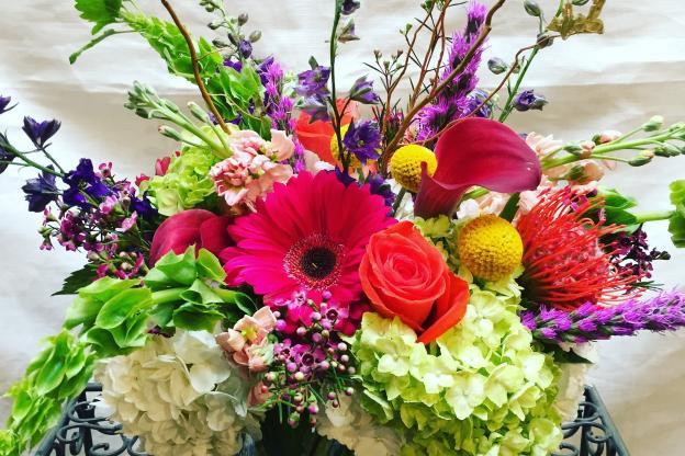 Fabulous flowers designed by Twigs Florist