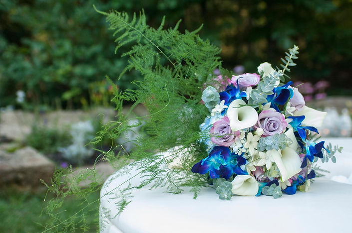 Wedding bouquets creatively designed