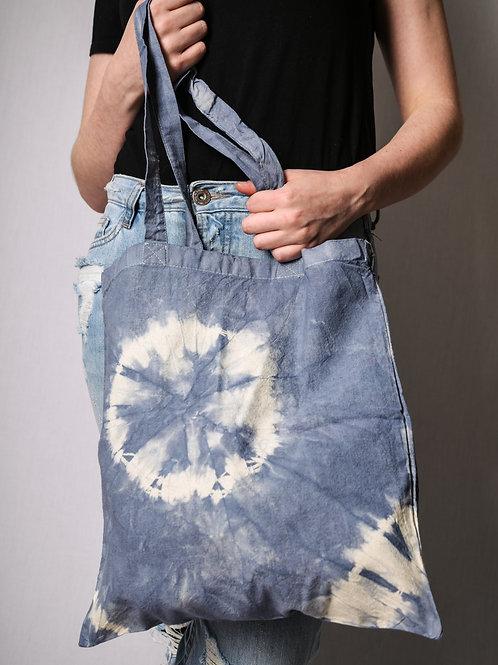 Fabric bag light blue