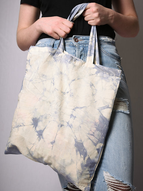 Fabric bag beige/dolphin gray