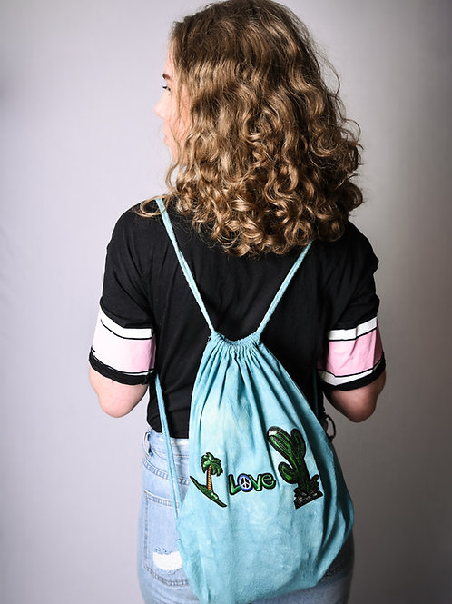 Hipster bag green