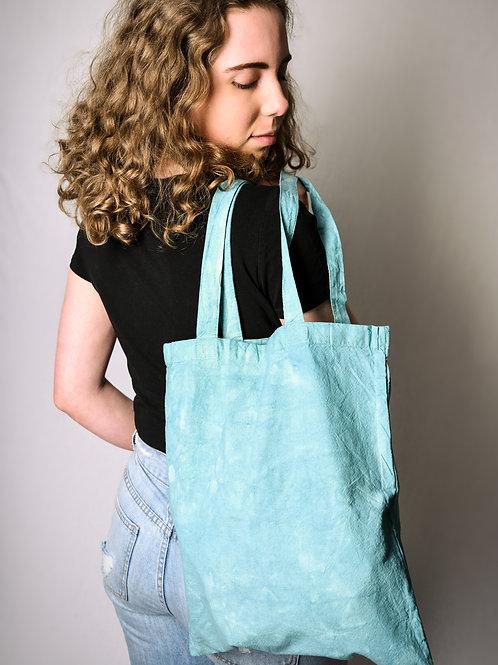 Fabric bag turquoise