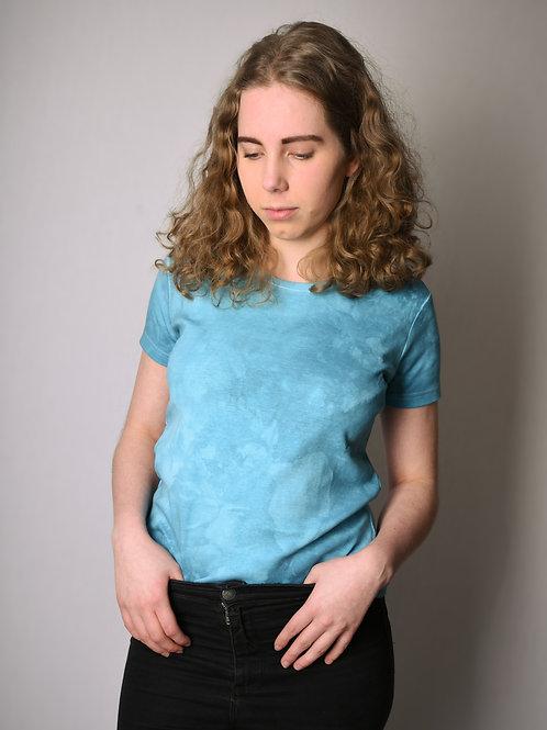 Batic shirt turquoise
