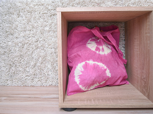 Fabric bag pink