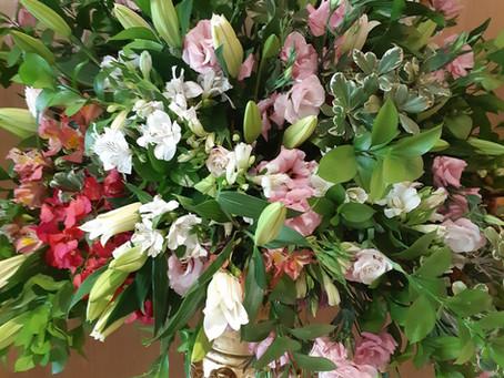 Cores e flores: o casamento perfeito