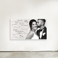Wedding Guestbook painting