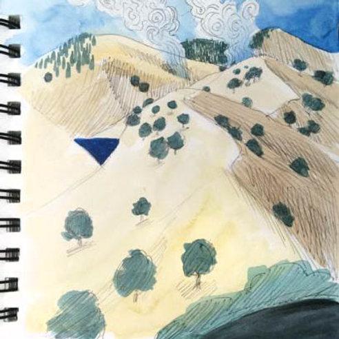 Sketchbook: California No. 5
