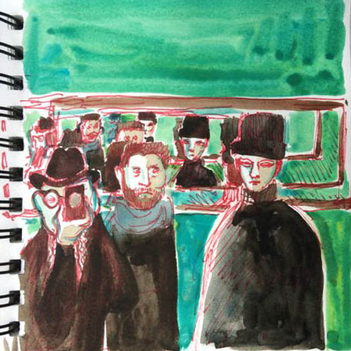 Sketchbook: France No. 20