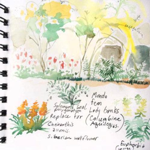 Sketchbook: France No. 22