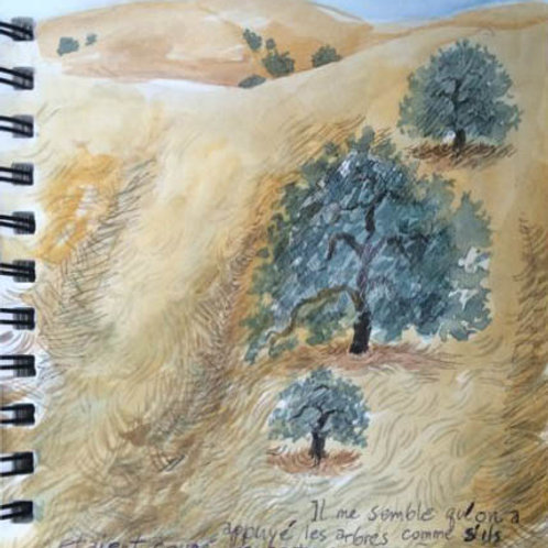 Sketchbook: California No. 17