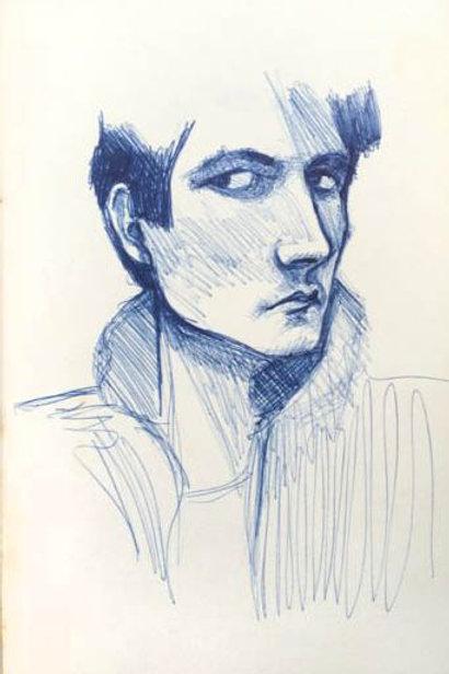 Sketchbook: portrait study