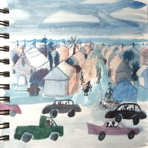 Sketchbook: California No. 2