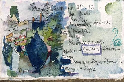 Sketchbook: France No. 3