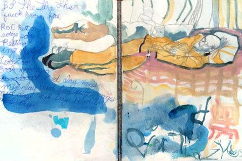Sketchbook: nap