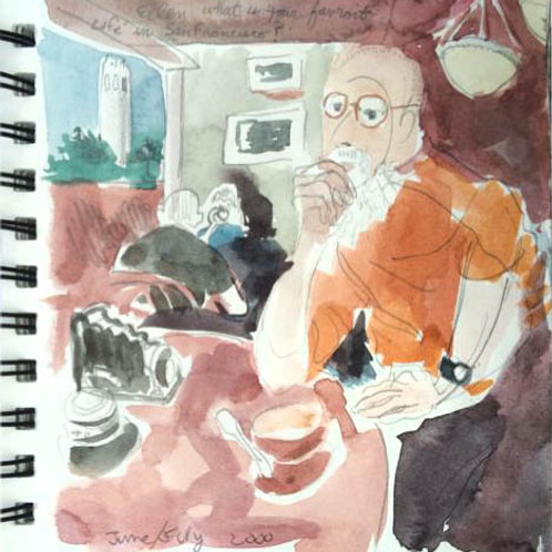 Sketchbook: California No. 8
