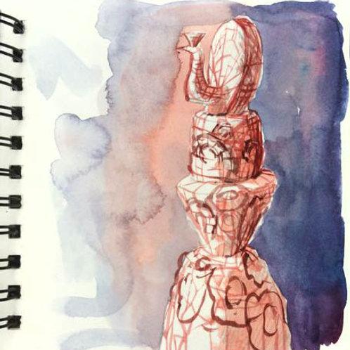 copy of Sketchbook: study in red 1