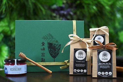 Подарки с медом, чаем, сувенирный шоколад, подарочный набор | ЧайныйЧеловек.рф
