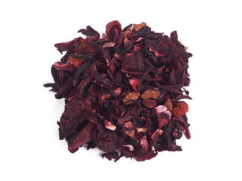 """Фруктовый чай""""Вишневый пунш""""купить с доставкой- ЧайныйЧеловек.рф"""