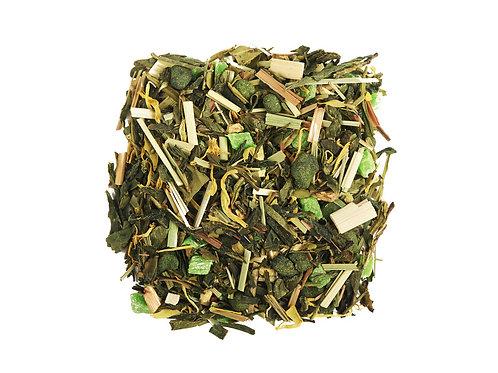 """Фруктовый чай""""Лайм и женьшень""""купить с доставкой- Чайныйчеловек.рф"""