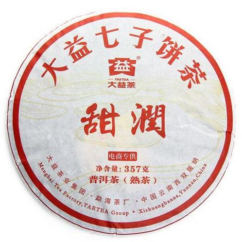 Чай пуэр Тянь Рун | Фабрика Менхай Да И | купить в магазине ЧайныйЧеловек.рф