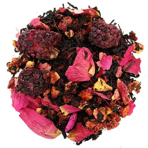 """Черный чай с добавками""""Английская королева""""купить с доставкой- ЧайныйЧеловек.рф"""