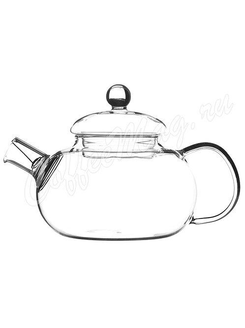 чайник стеклянный 600мл - купить в магазине ЧайныйЧеловек.рф - с доставкой по РФ
