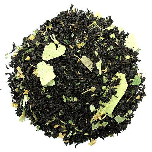 Краснодарский черный чай с липой - ЧайныйЧеловек.рф
