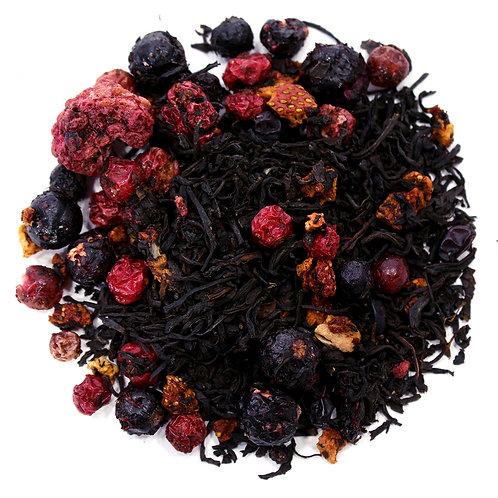 Русский чай, чай с ягодами купить с доставкой- ЧайныйЧеловек.рф