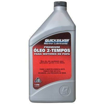 Óleo Quick Silver Premium- Motores de Popa 2- tempos