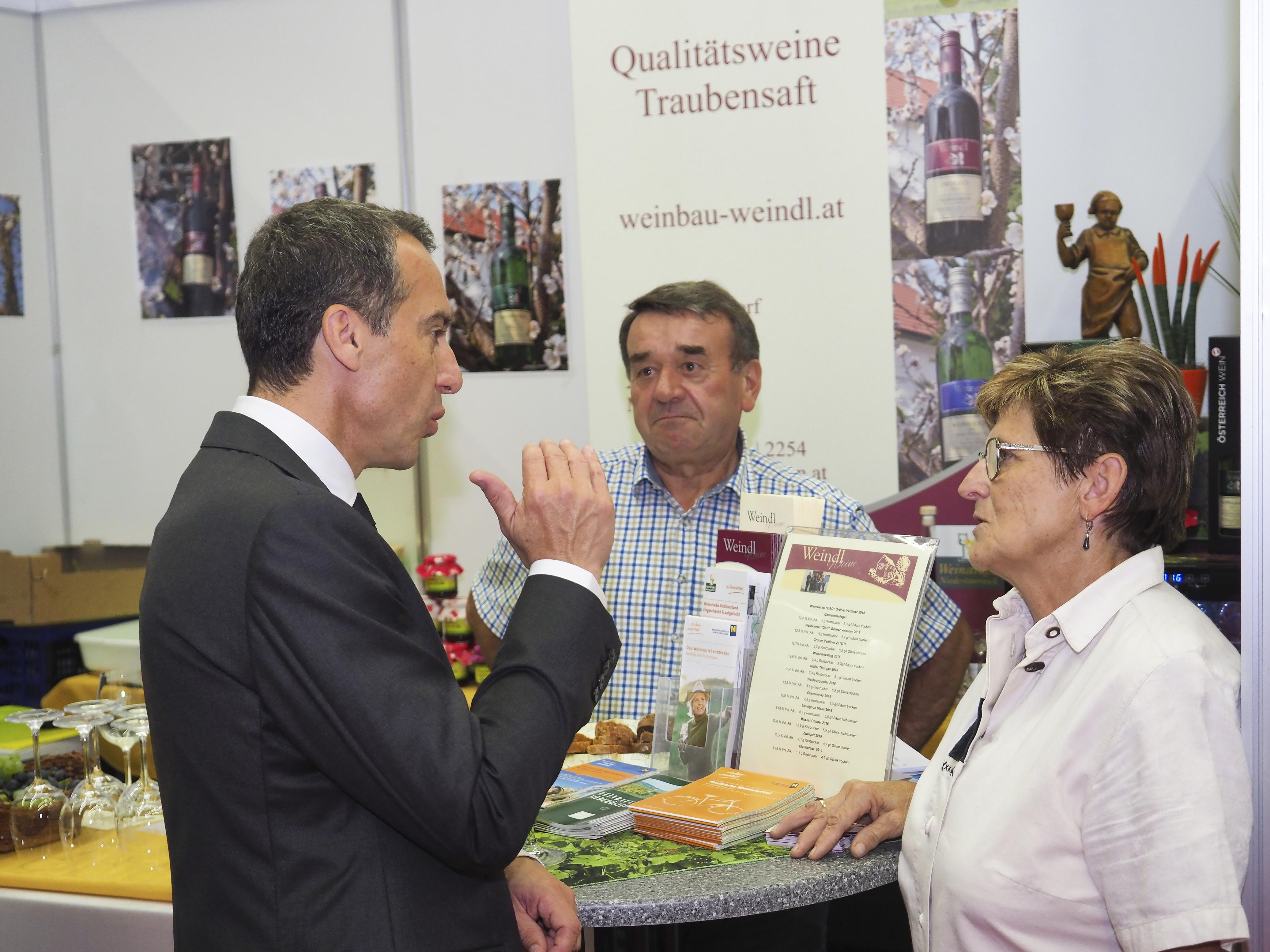 Besuch bei Weinbau Weindl