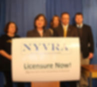 NYS Assemblywoman Lupardo and Senator Griffo Press Conference on Licensure.