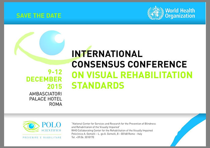 International Concensus Conference Welcome and link to conference detail.