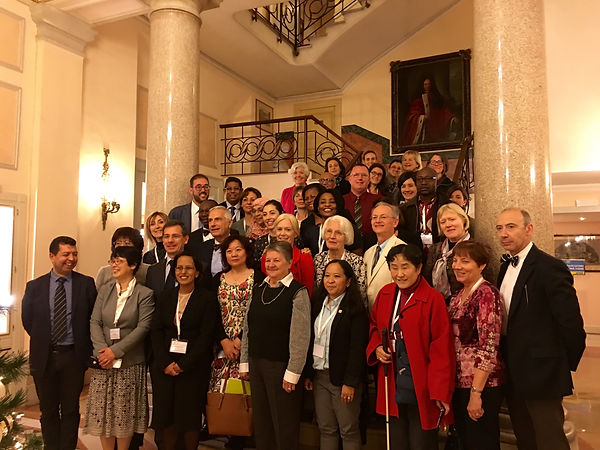 International Consensus Conference Participant Photo in Rome, Italy