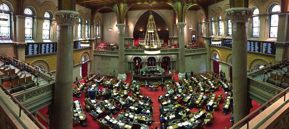 Photo of the NYS Assembly Chamber