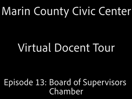 Frank Lloyd Wright Virtual Docent Tour - Episode 13: Board of Supervisors Chambers