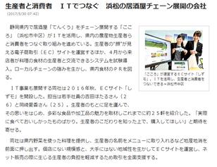 『静岡新聞SBS』webに「しずモ」を取り上げていただきました