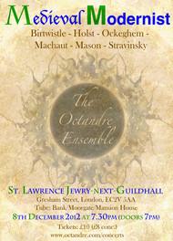 Medieval Modernist, December 2012