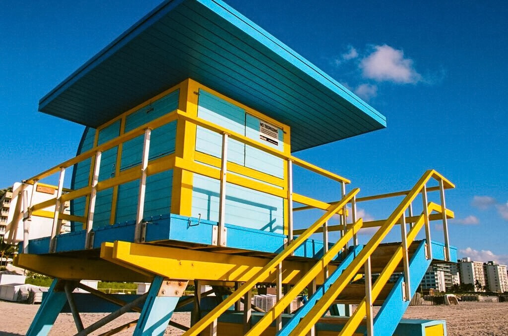 The Iconic Miami Lifeguard Towers