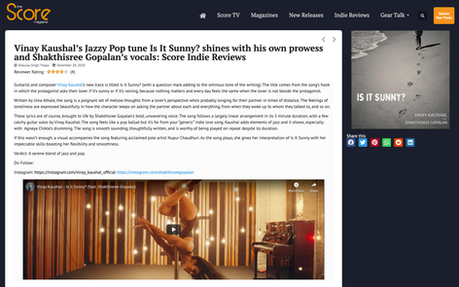 The Score Magazine Review