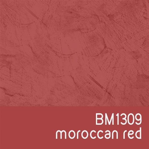 BM1309 Moroccan Red