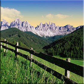 Dolomite Mountains Italian Alps