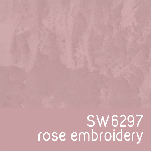 SW6297 Rose Embroidery