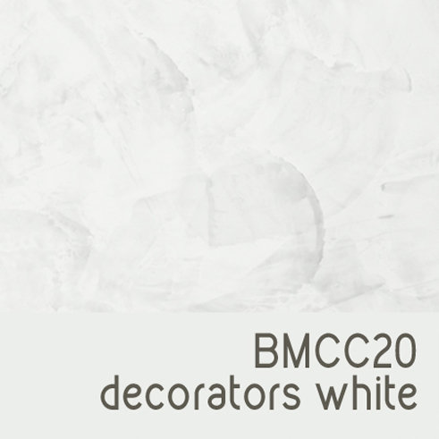 BMCC20 Decorators White