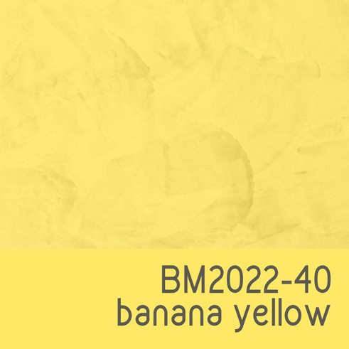BM2022-40 Banana Yellow