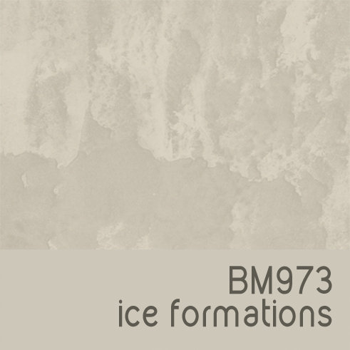 BM973 Ice Formations