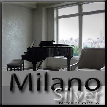 Milano Silver Metallic (fine)