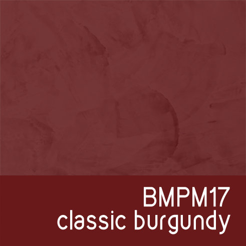 BMPM17 Classic Burgundy