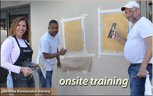 Venetian Plaster training